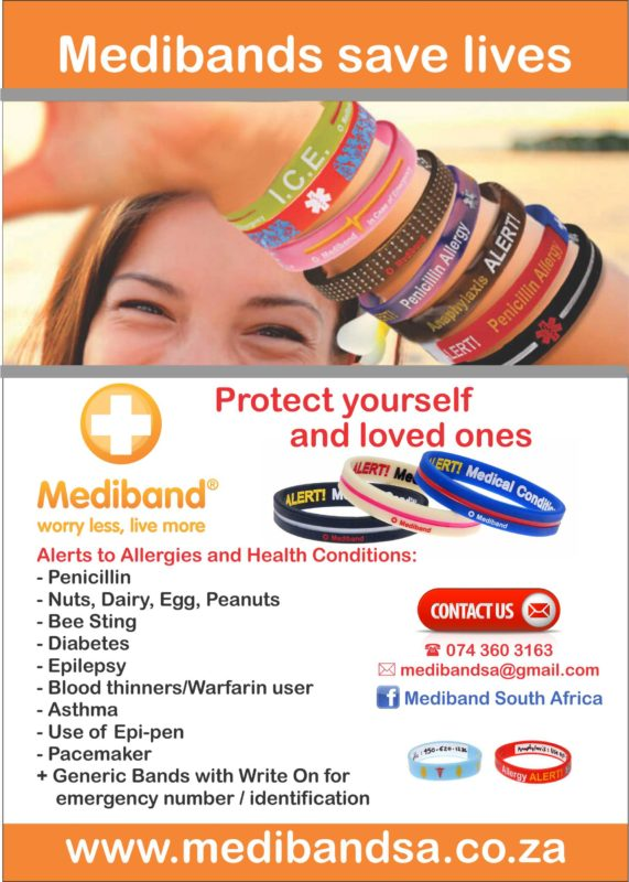 Allergy Wristbands for Kids - Benoni