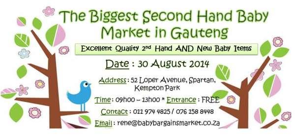 Baby Bargains Market - Kempton Park - Used Baby Goods