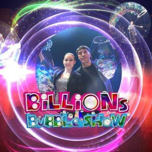 Billions Bubble Magic Show 2018 - Time Square Menlyn