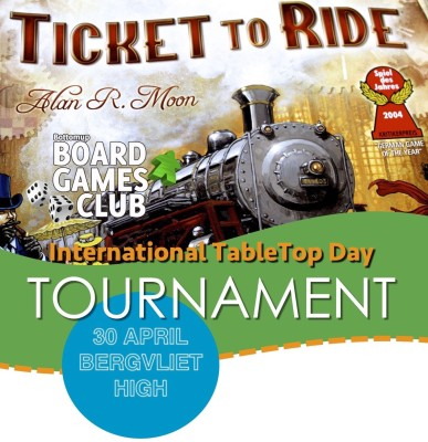 Board Games Club Tournament 2016 - Cape Town
