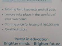 Bravura Tutors Professional Tutoring - South Africa