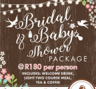 Bridal & Baby Shower Packages 2017 - Casa Toscana Pretoria