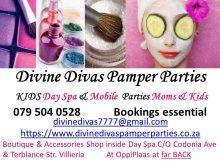 Divine Divas Pamper Parties - Pretoria