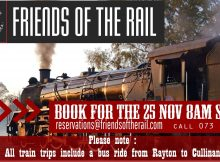Friends of the Rail Express Train Trip 2017 - Pretoria