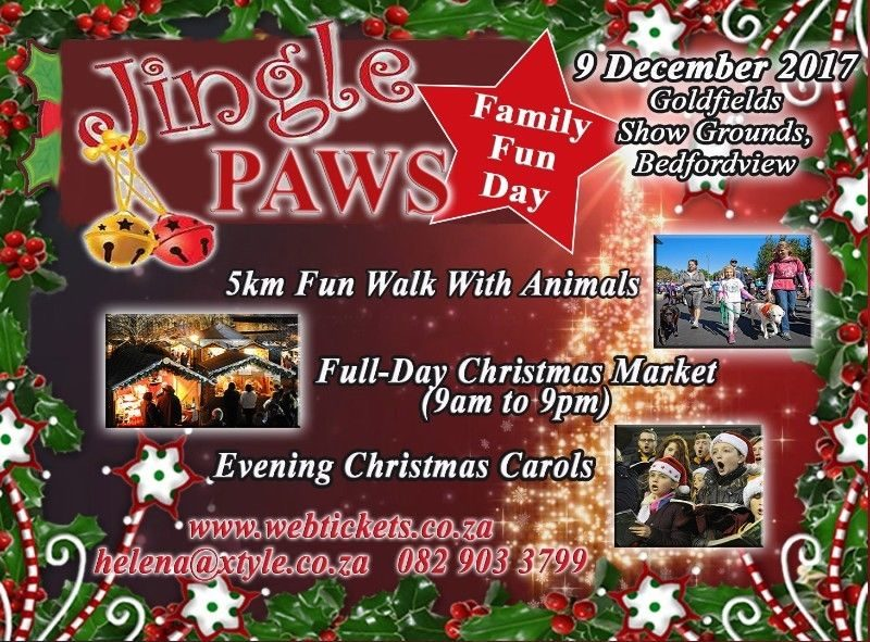 Jingle Paws Family Fun Day 2017 - Bedfordview