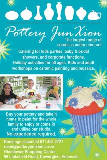Pottery Junxion Workshops - Edenvale