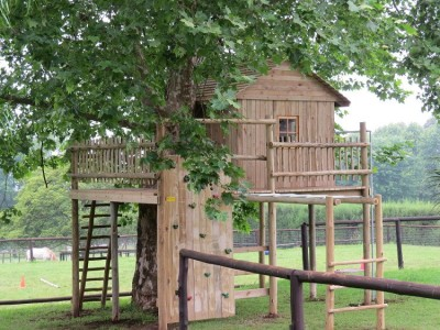 Rustic Structures - Playground Equipment - KZN