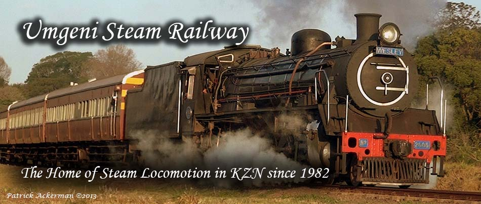 Steam Train Outings Umgeni Steam Railway - Durban