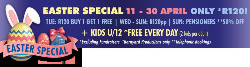 Easter Family Fun 2017 - Barnyard Gauteng