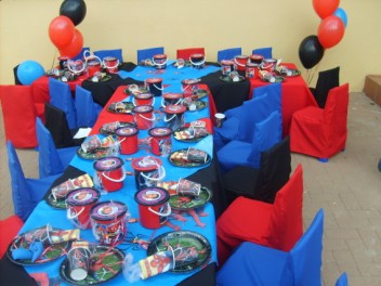 The Angels Themed Birthday Parties