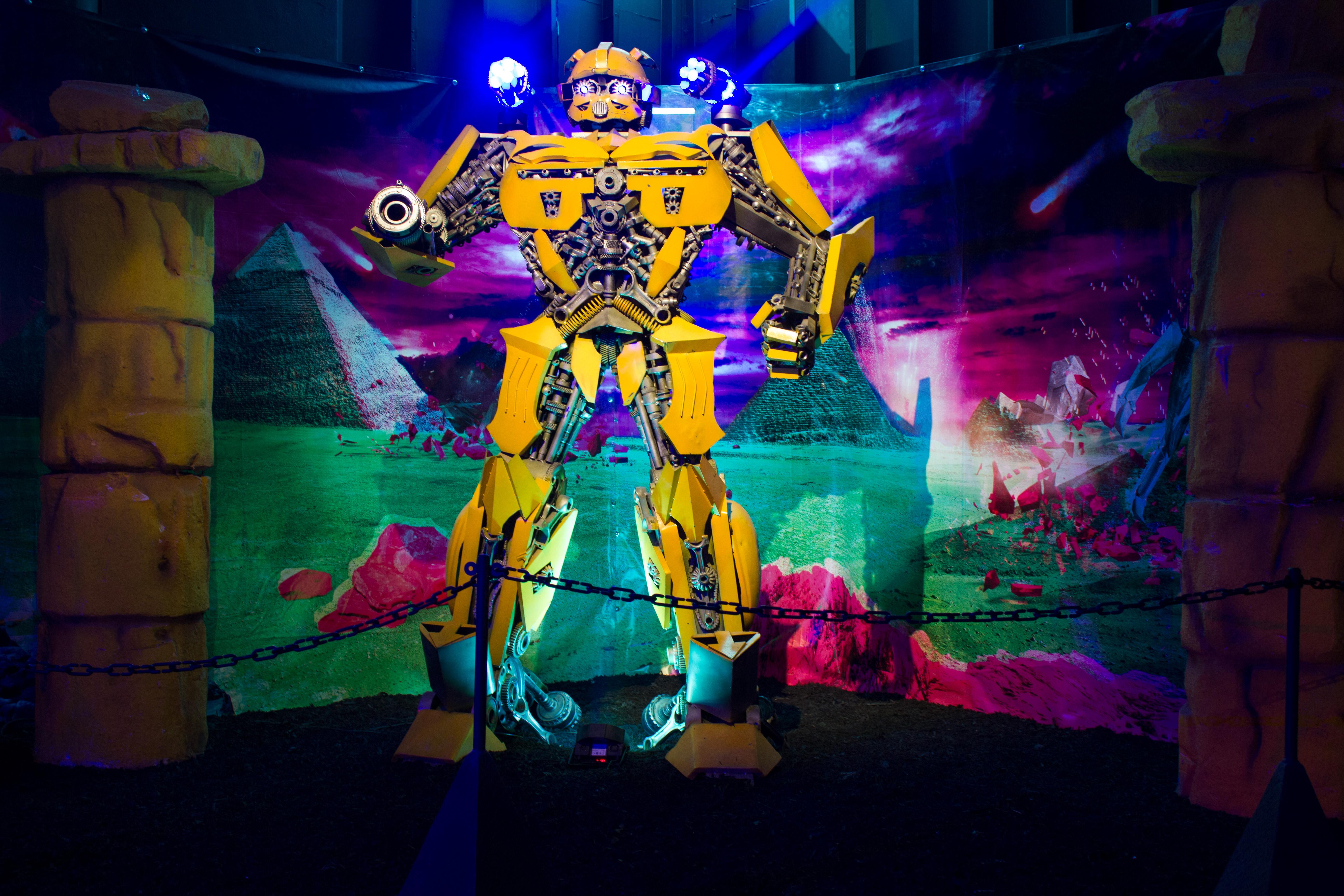 Transformers Exhibition Cape Town 2017
