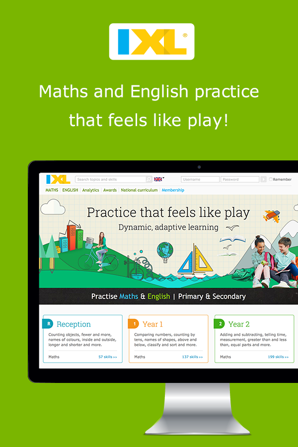Kids Fun Maths Learning Activities - IXL Learning - South Africa
